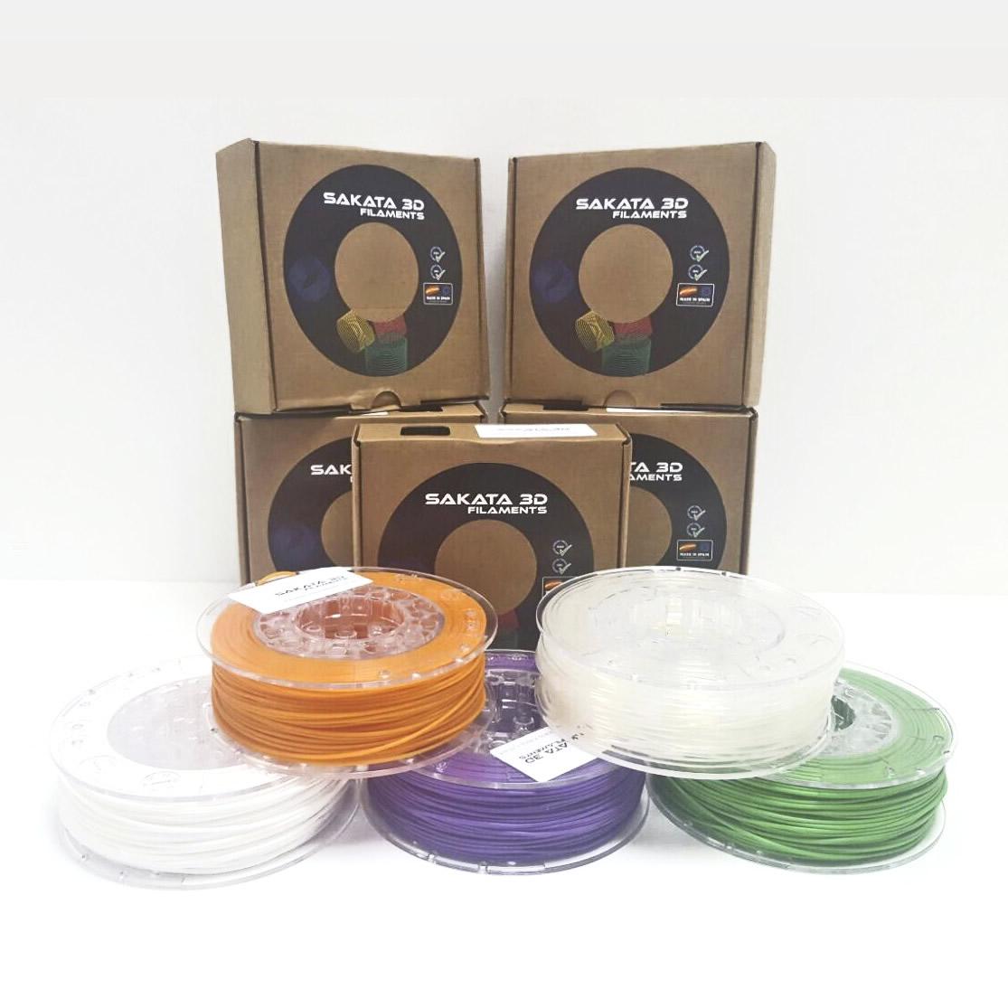 Pack de colores PLA 250gr.