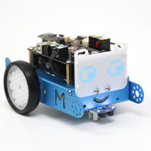 Robot mBot con matriz de leds