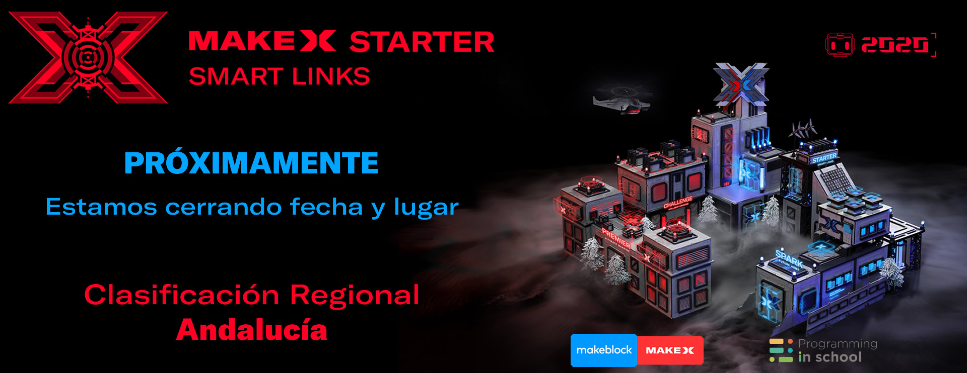 Banner MakeX Andalucia 2020 prox