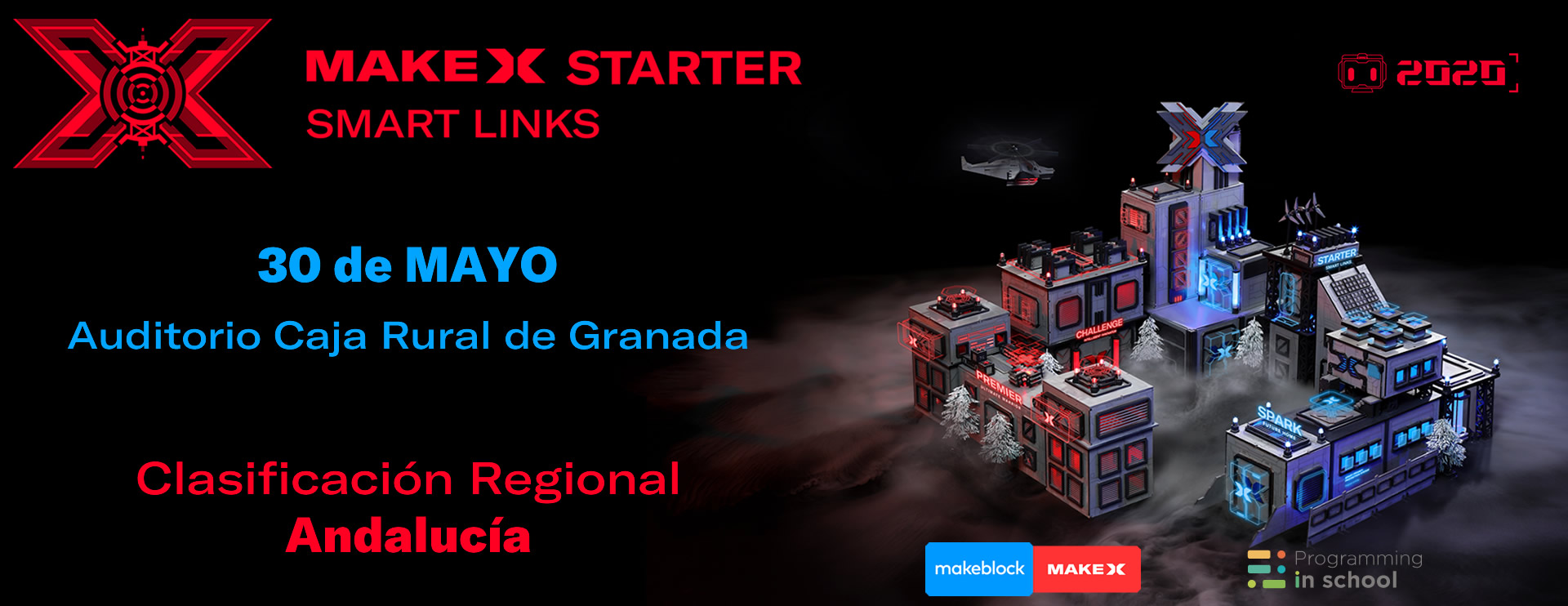 Banner MakeX Andalucia 30 MAYO 2020
